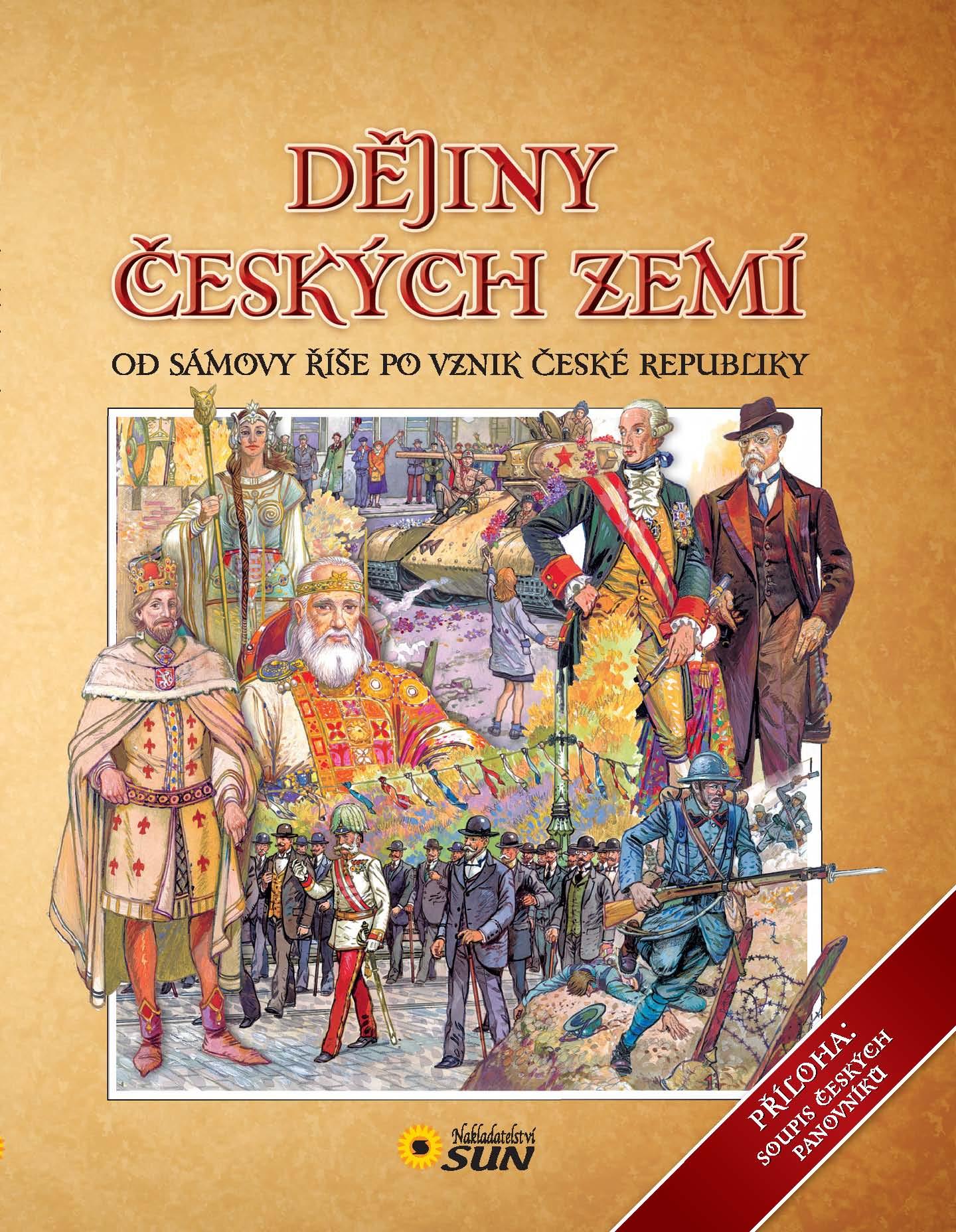 dějiny českých zemí kniha